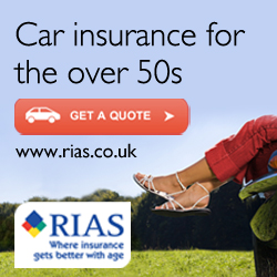 Car insurance for the over 50s from RIAS