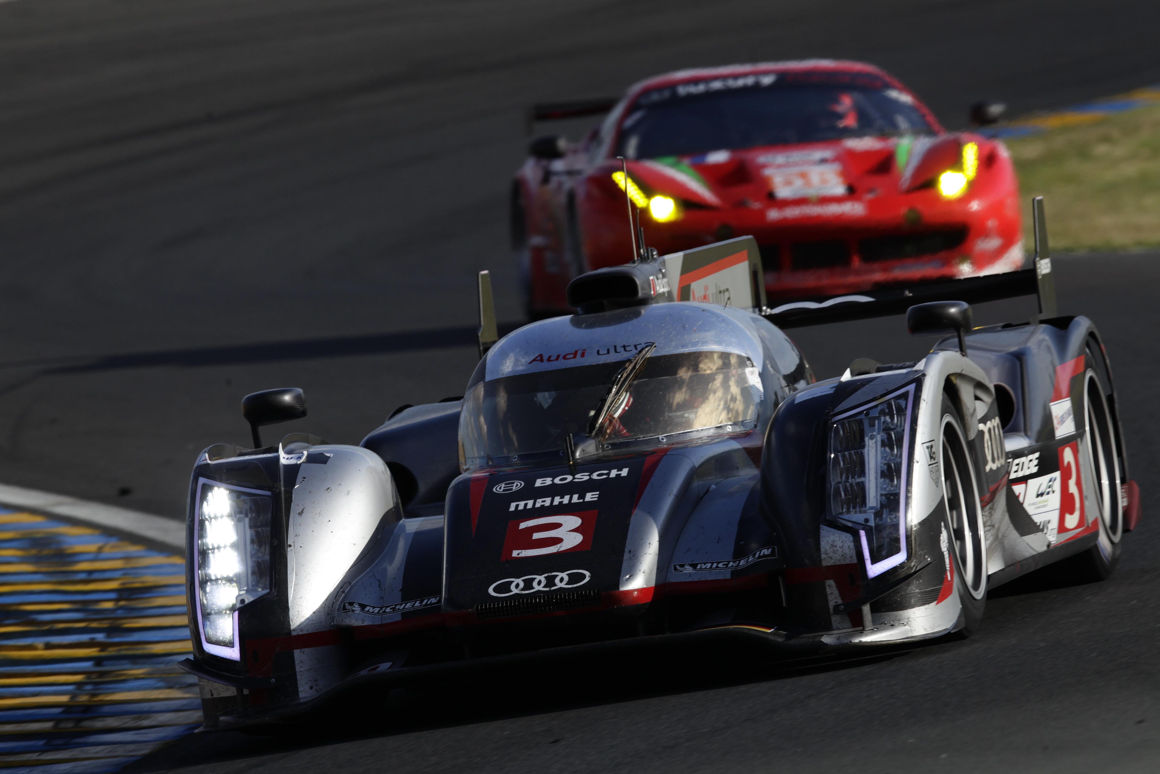 Audi R 18 E Tron Quattro Diesel Hybrid Wins Le Mans 24hrs