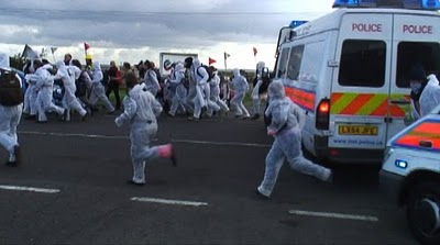 Coryton Oil Refinery Blockade 2010