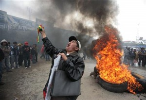 Bolivia Fuel Protests