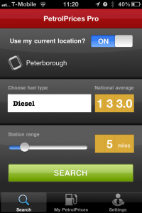 photo1 200x300 Petrol Prices Pro Apple App Review