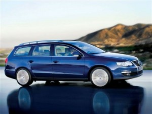Passat Blue motion