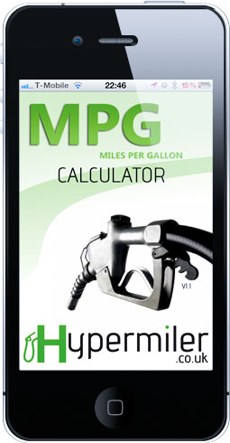MPG calculator app for the iphone ipod app store