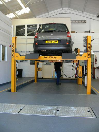 mot failure garage new car fail