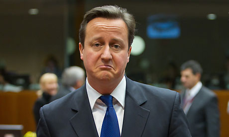 David Cameron sad Hypermiling fuel prices