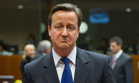 David Cameron sad Hypermiling fuel prices