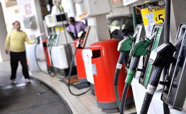 Fuel duty rise 2012