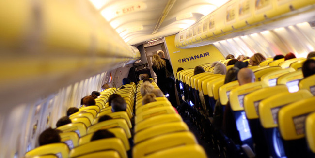Ryanair fuel saving passenger safety