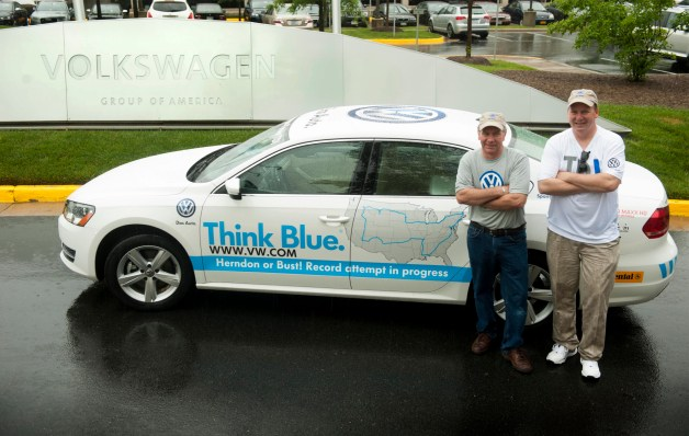 passat-tdi-world-record-attempt-MPG-vw