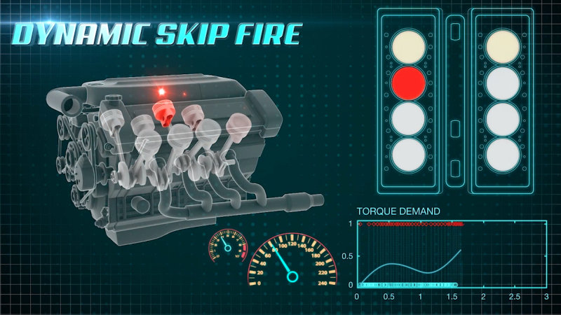 Dynamic Skip Fire GM fuel saving