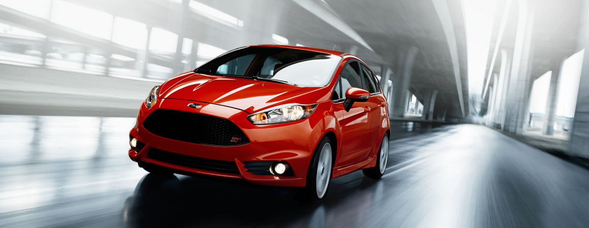 New 2014 Ford Fiesta ST Red