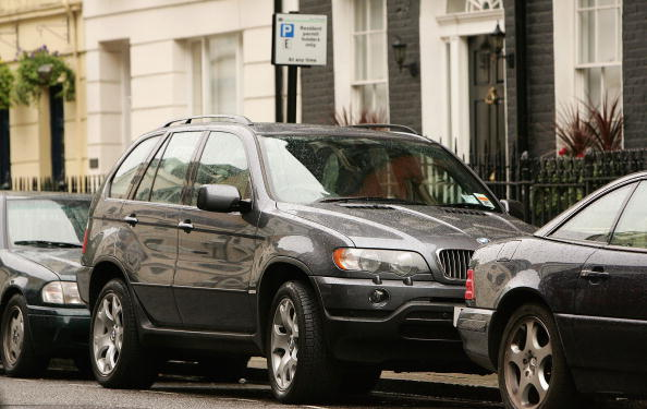 London parking permit bmw x5
