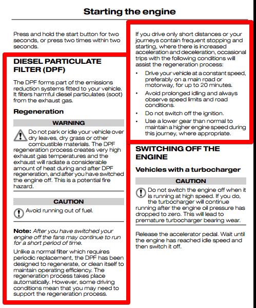 Ford Diesel Particulate Filter DPF FAQ – Fiesta / Focus