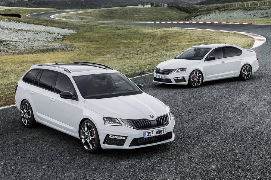 skoda reveals the updated 2017 octavia mk3 facelift but whats changed hypermiling fuel. Black Bedroom Furniture Sets. Home Design Ideas