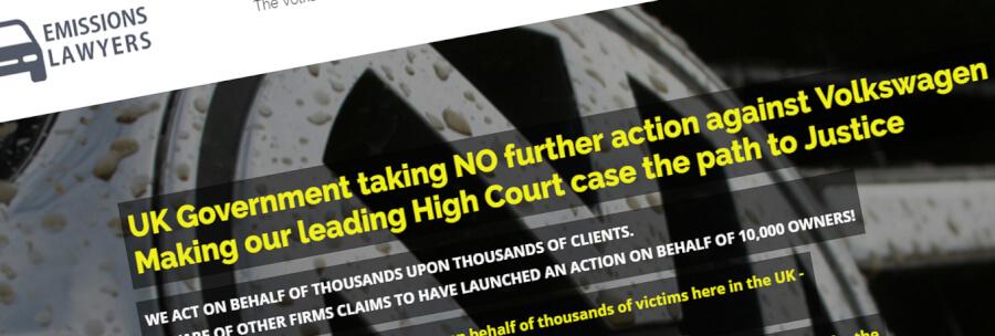 diesel gate claim vw legal action
