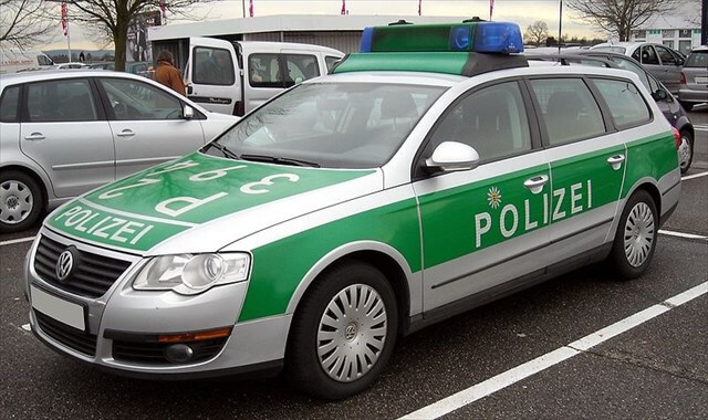 bavarian police car