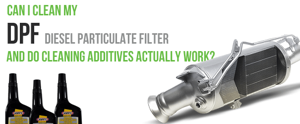 DPF cleaning cleaning additives diesel particulate filter