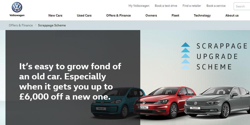 Volkswagen Scrappage Scheme 2017 targets older diesel vehicles ...