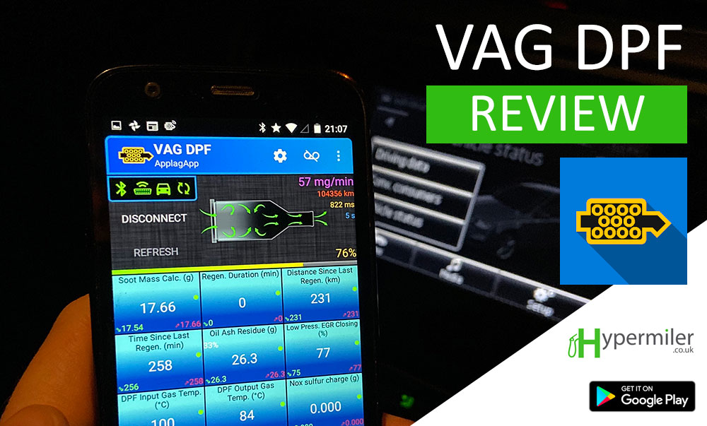 VAG DPF Review (Andriod) – VAG DPF Monitor app