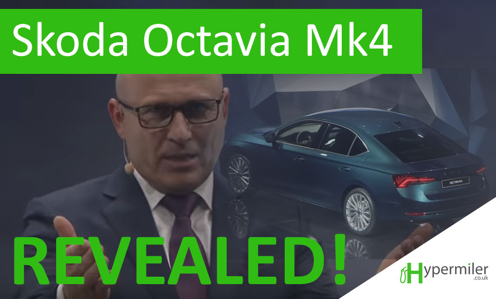 Skoda officially reveals the Octavia Mk4