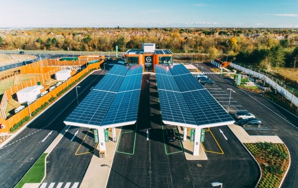 GRIDSERVE opens UK's first Electric Forecourt